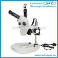 Mzs0655t 6x-55x trinoculaire stéréo microscope numérique avec caméra