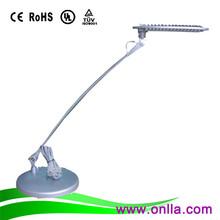 modern & cordless touch sensor elegant foldable neck reading light lamp