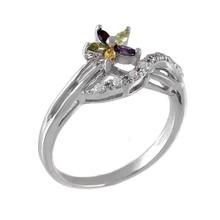 Flower egyptian wedding rings