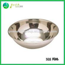 Wholesale eco-friendly 100% FDA metal & glass fruit bowl stainless steel decorative fruit bowl