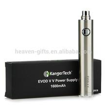 1600mAh Evod Twist II VV KangerTech Stainless Steel E Cigarette Battery EVOD VV