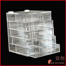 CLEAR PLASTIC STACKABLE STORAGE DRAWER