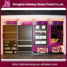Shop wallet display stand, MX4346 shop fitting store fixture slatwall hooks