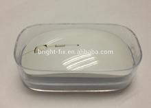 CBlack rubber surface 2.4G wireless mouse for Macbook windows xp vista 7 laptop PC travel