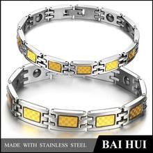 New Jewelry Stainless Steel Magnetic Bracelet, Anti-radiation Bracelet