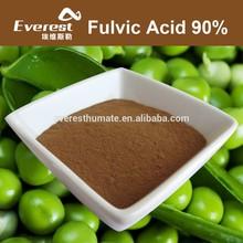 Plant Fulvic Acid 90% Powder For Foliar Fertilizer