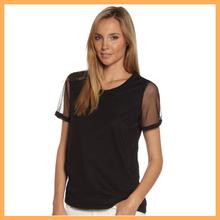 Fashion summer silk organza blouses