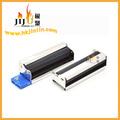 Jiju fábrica de acessórios de fumar saúde fornecer jl-028c 80mm cigarro do metal da máquina de papel