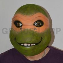 Latex Ninja turtle mask for LARP