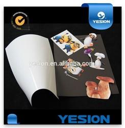 Inkjet glossy fridge magnetic photo paper type flexible magnets printable