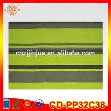 High quality modern stylish printed cork table mat and food grade PVC table mat