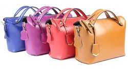 2014 Famous brand woman travel bag leather tote bag