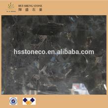 Natural Polished Black Blue Marble Jade Blue