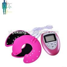 fashionalbel degisn electronic breast enhancer massager/digital breast massage pad