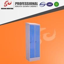 new design two door metal wardrobe design/steel cupboard design/cabinet design