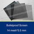 Seguridad de aceroinoxidable pantalla de la ventana, a prueba de balas crimsafe protector de pantalla