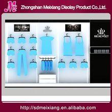 Shop tier display stand, MX4480 hangzhou clothes display fixtures cabinet