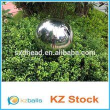 Sandblasting landscaping stainless steel ball decoration