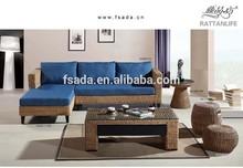2014 the best sell garden rattan sofa set