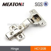 Clip on soft close damper hinge