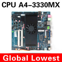 AMD motherboard A4 3330mx 2.6 Mini itx mainboard industrial small motherboard can oem Rs 232,com port, Ethernet port
