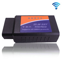 Latest Version OBD2 WIFI Connection ELM327 Auto Code Diagnostic ELM 327 WIFI for PC/ISO/Android