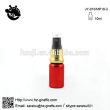 10ml red oil spray vial for perfume JY-010/MP18-3