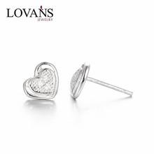 Fashion Earrings For 1 Dollar Wholesale 925 Sterling Silver CZ Jewelry SEB117W