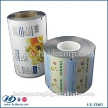 printed food safe material plastic film rolls