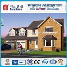 2014 new modern cheap light steel structure villa
