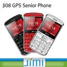 JIMI Hottest big button senior mobile phone with free tracking platform Ji08