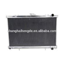 All Aluminum Radiator FOR NISSANskyline R32 52MM 2 CORE GTS GTR 89 -94