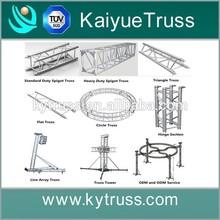 line array speaker truss, outdoor stage roof truss, truss stand