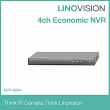4ch Economic cctv NVR kit working with third-party IP camera