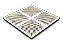 Steel raised access floor tile/ steel perforated panel