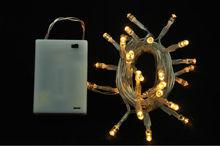 Best Quality 1.5M-3M-4M Waterproof 3AA battery box 20/30 pcs bulbs led string light,use forwedding favor