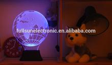 3D Led Battery Power Moon Light FS-2817
