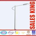 8m a 15 m galvanizado poste de iluminação pública