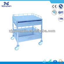 hospital 304 Stainless steel surgical instrument trolley table
