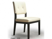 leather dining chair simple dining room furniture