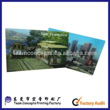 Hot sale 3D lenticular motion graphic postcard