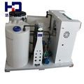 la integración de hipoclorito de sodio por generador de salmuera para el hospital de desinfección