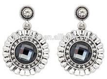 retro court design fantastic shape luxury rhinestone personality earrings delicate accessory for Ladies