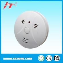 Independiente de alarma de incendio photolectric detector 9 V funciona con pilas del detector de humos de precios