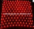de color rojo led para el hogar decoración de navidad luces de la red
