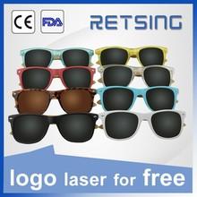 Polarized UV400 Lenses Optical Attribute Wooden Sunglasses Fashion New Products On China Market