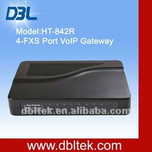 2012 IP PBX 4-port FXS VoIP Gateway/GSM 850/900/1800/1900MHz