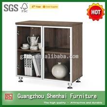 small glass door storage cabinet modern wooden kitchen cupboards