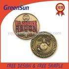 Metal Souvenir Coin Challenge
