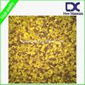 Precio bajo de colores granulada suelo de goma